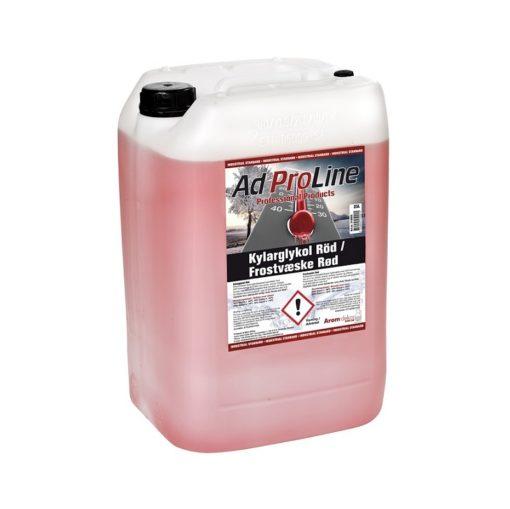 Glykol Röd 25 Liter